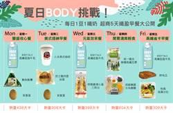 夏日BODY挑戰!每日1豆1纖奶 超商5天纖盈早餐大公開