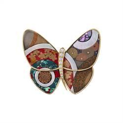 梵克雅寶蒔繪蝴蝶 東西交匯之美