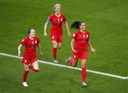 影》太殘忍了! 女足世界盃美國13:0踢哭泰國