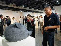 《我的石代.我的道》聯展   協會理事長鄭詠鐸盼石雕多元發展