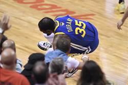 NBA》名醫預估:杜蘭特可以完全痊癒