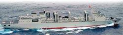 遼寧號穿越宮古海峽 首見呼倫湖號
