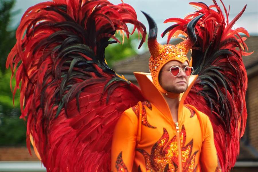 泰隆艾格頓飾演艾爾頓強。(UIP提供)