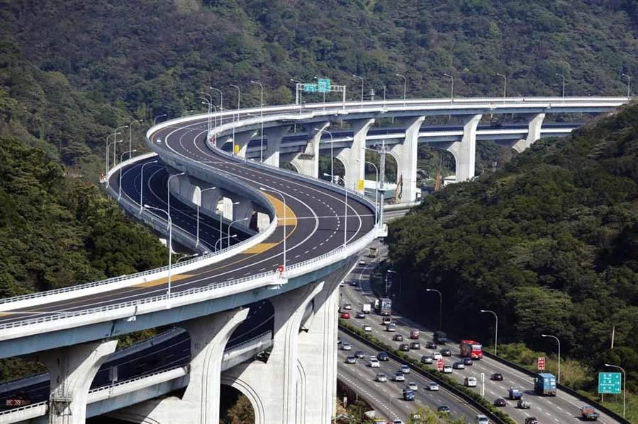 五楊高架道路確定延伸到新竹。(翻攝自高公局)