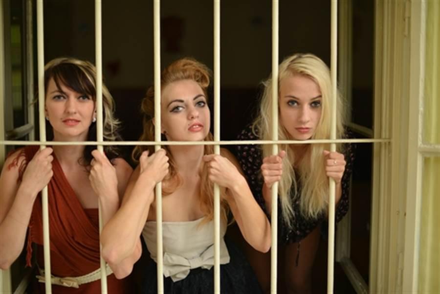 全球最誘人監獄! 女囚全是名模(示意圖/達志影像)