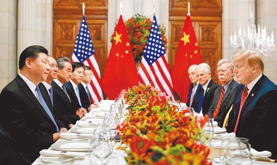 港媒指出,美国总统川普和大陆国家主席习近平在日本的峰会可能共进晚餐,面对面协商。 (路透)