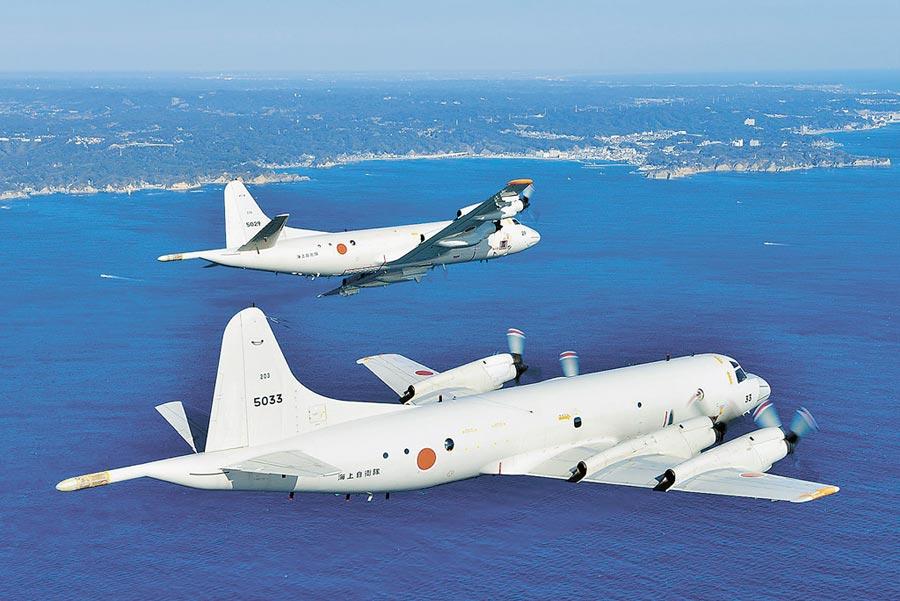 日本P-3C反潛巡邏機。(取自日本海上自衛隊官網)
