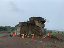 八里75年老砲台去留 降挖後再行評估