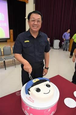 慶祝警察節  中山分局長獻唱「感恩的心」