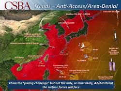 圍堵大陸 美呼籲建第一島鏈電子監控網