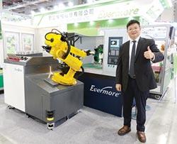 勤堃工業機器人 打造智慧工廠