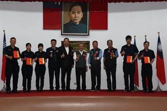 警察節慶祝大會 苗栗縣警局表揚績優警察