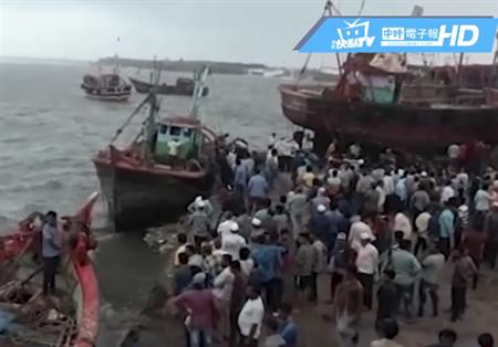 熱帶氣旋襲印度已1死2傷 沿海30萬人急撤