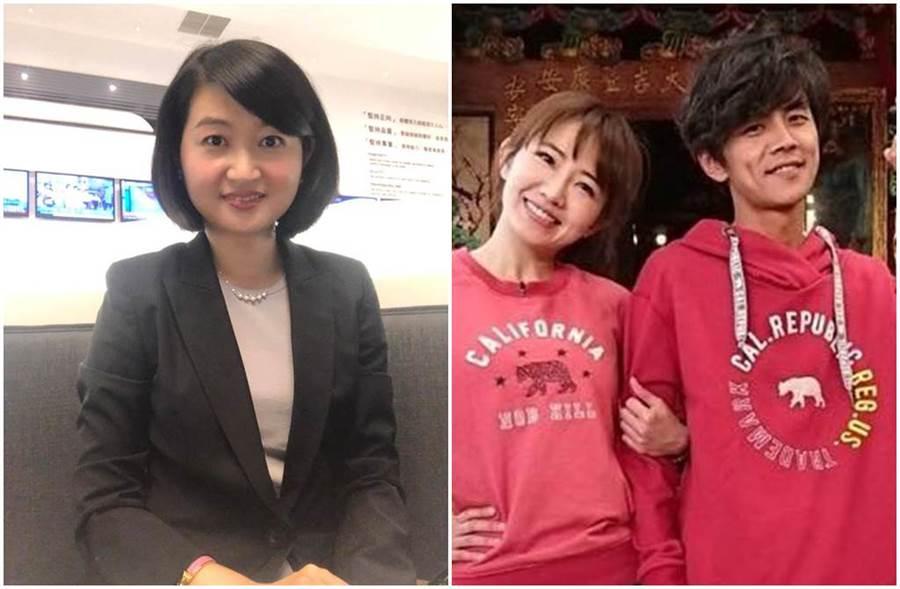 眼科醫師黃宥嘉認為阿翔是故意被媒體拍到。(圖/睛視媳婦 眼科醫師黃宥嘉時間、外景小公主- 謝忻的粉絲團臉書)