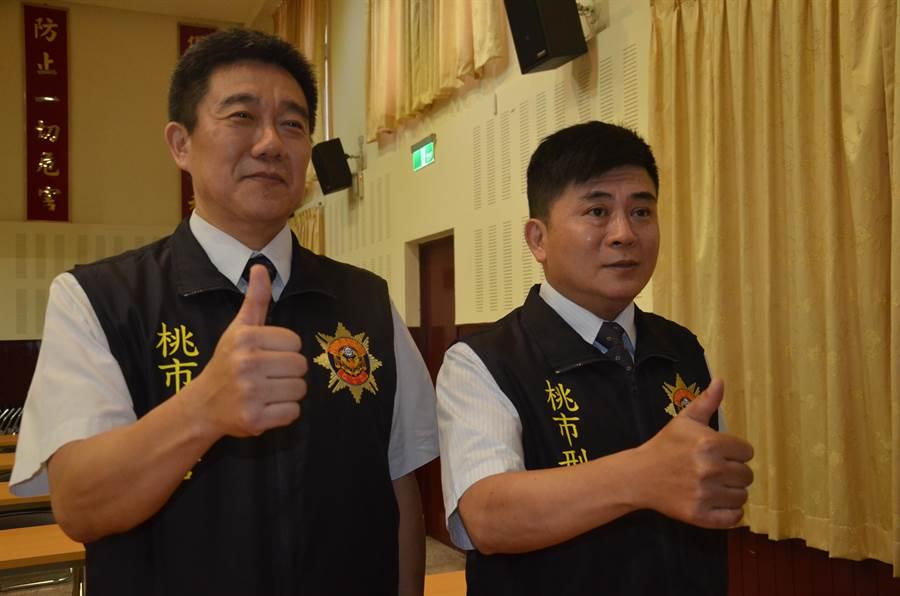 内政部长徐国勇13日下指示,侦查小队长王强生、侦查小队长洪俊德将破格晋陞。