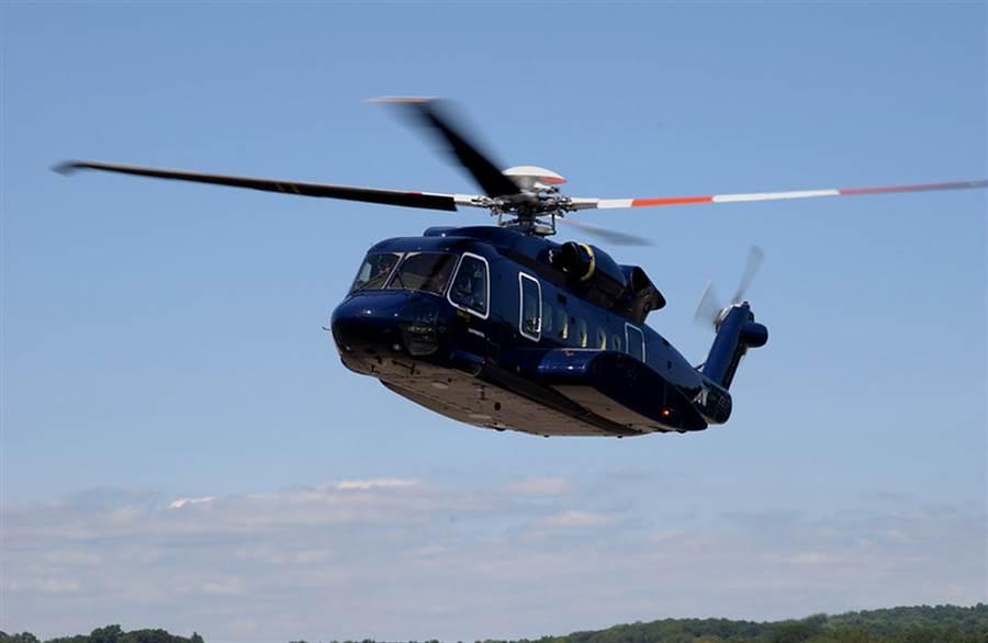 新版美總統專用直升機VH-92A將以西科斯基的S-92為基礎加以升級改裝為總統專機陸戰隊一號。(圖/洛馬公司)