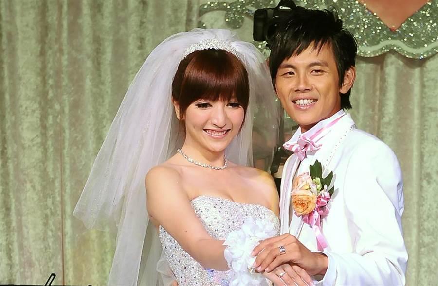阿翔和Grace結婚8年。(圖/中時資料照)