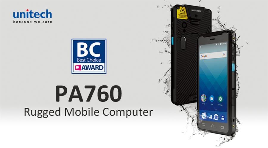 PA760機身搭載2D條碼掃描引擎,除了常見的一維及二維條碼外,還可辨識一般相機無法辨識之破損條碼、護照及國外駕照常用之OCR碼,更可一次讀取十組條碼,提升十倍讀取效率。圖/業者提供