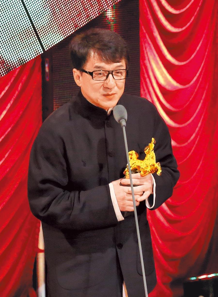 成龍曾拿下金馬最佳動作設計獎。(資料照片)