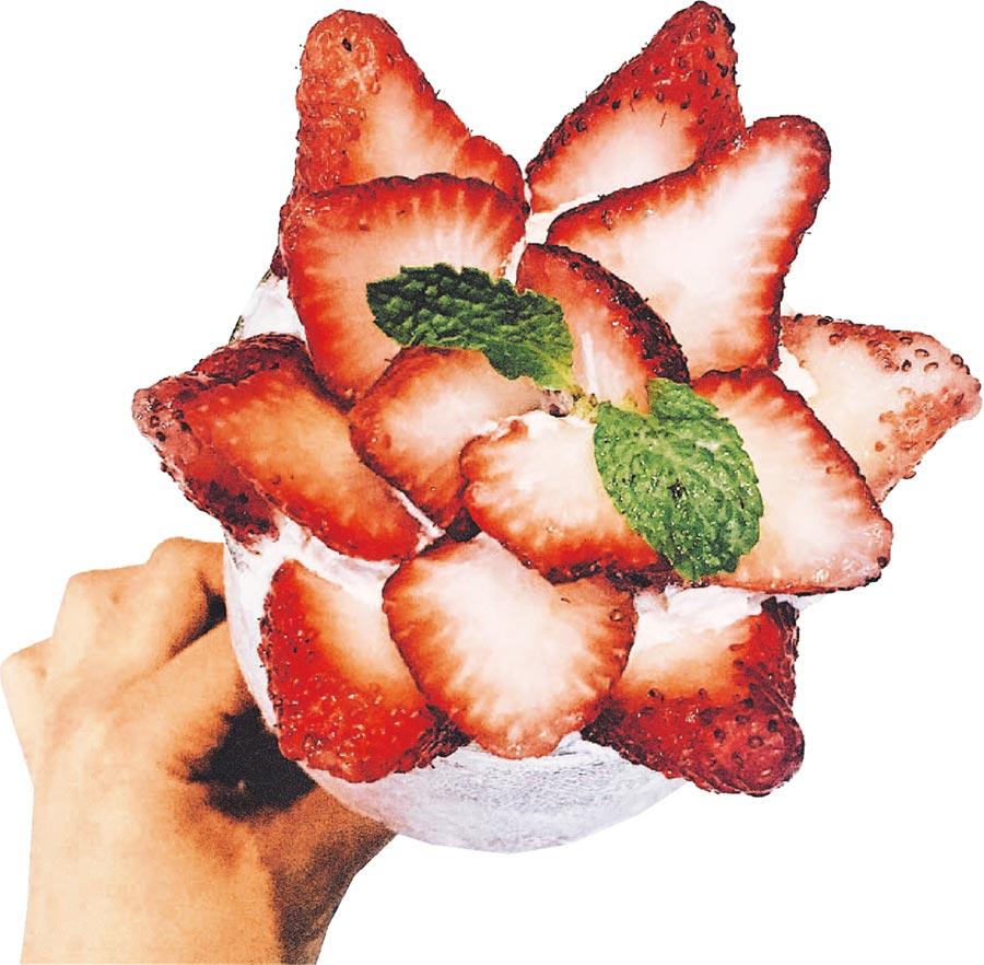 新光三越台北南西店扣會員點數100點可免費兌換「夢鹿咖啡」莓你怎麼活,價值180元,限量30份。(新光三越提供)