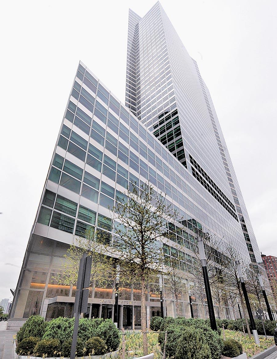 位於紐約曼哈頓的高盛集團總部。(新華社資料照片)