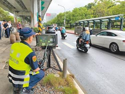 17機車超速熱點 北市加強執法