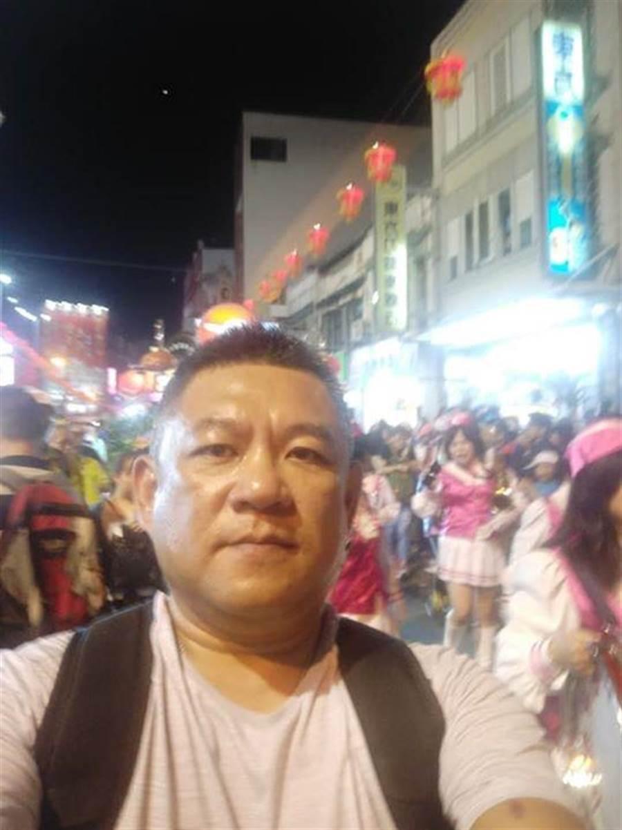 遭槍殺的台南刑大警察劉三榮。(取自臉書)