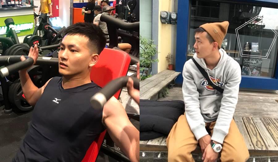 林宥任喜歡錯開多人運動的晚間,在早上運動、吃個早餐補充能量,再踏著輕快的步伐去上班。