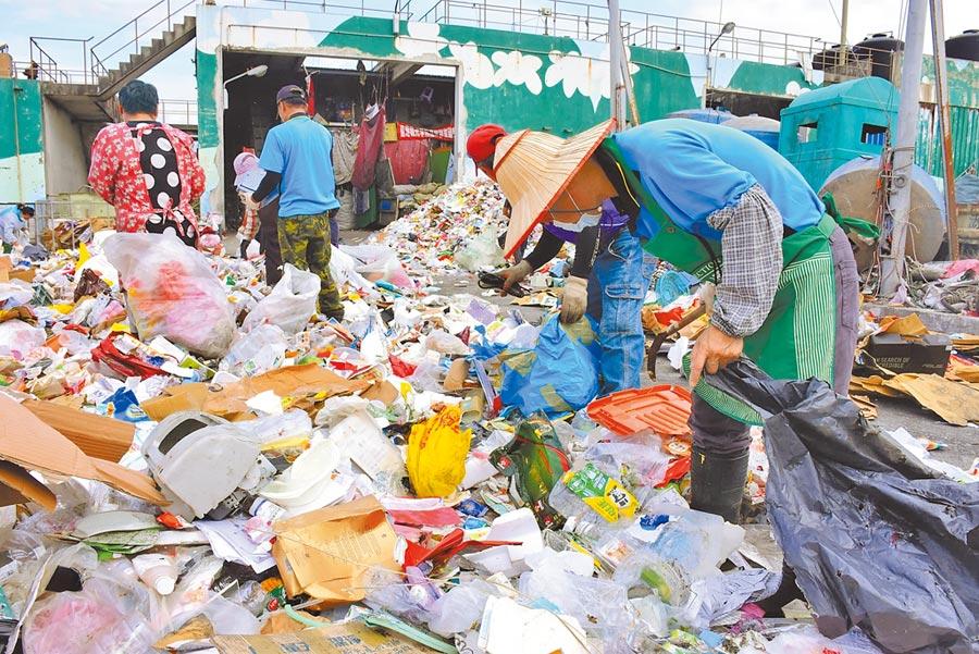 花蓮縣去年資源回收率達52.28%,回收量較前年增加30.47%,獲得環保署考核全國銀質獎。(本報資料照片)