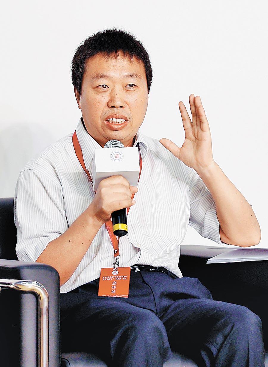 北京聯合大學台灣研究院副院長李振廣。(中新社資料照片)
