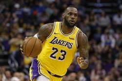NBA》球員工會頒獎 詹姆斯獨攬兩大獎