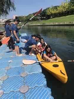 享受夏日水上運動魅力 中市辦獨木舟體驗營