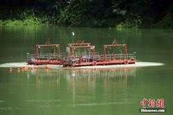 台灣海峽地殼深部構造 福建陸海聯測
