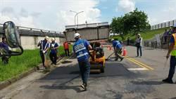盧市府團隊上任半年 完成123條高品質路平
