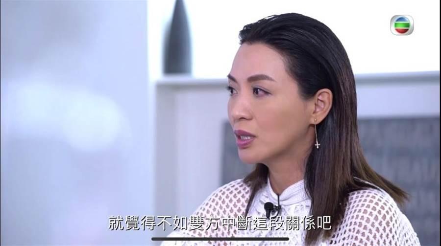 陳煒透露離婚原因。(圖/翻攝自東網)