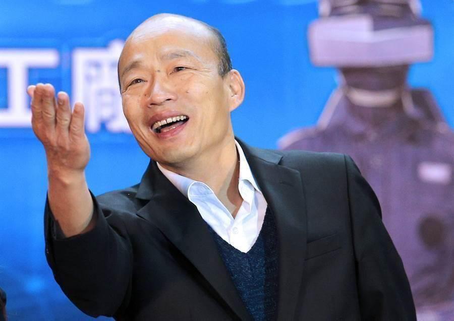 高雄巿长韩国瑜。(资料照片)