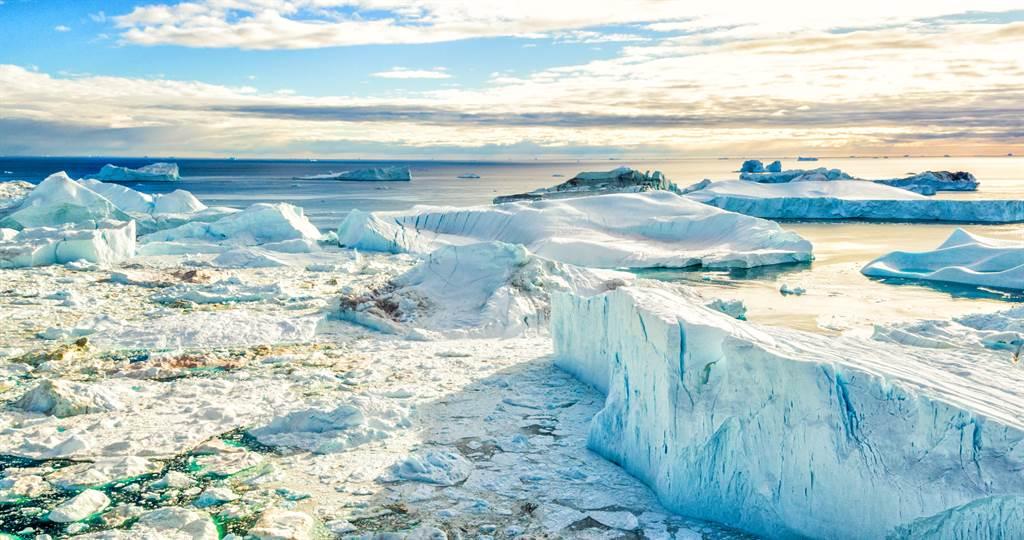 20億噸冰一天融光 專家:不尋常(示意圖/達志影像)