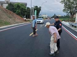 平鎮散步到龍潭 老翁迷走餓倒路邊