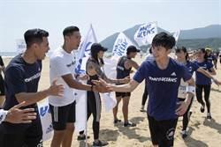 李國毅忍腳傷跑完5公里 領800位跑者為海洋而跑