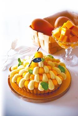 大倉久和芒果水果塔甜心頭