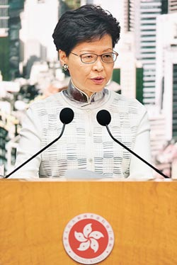 逃犯條例緩修 港府責任推給台灣
