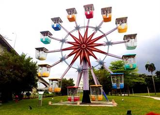 摩天輪、旋轉木馬!「圓山自然景觀公園」邀你尋童趣