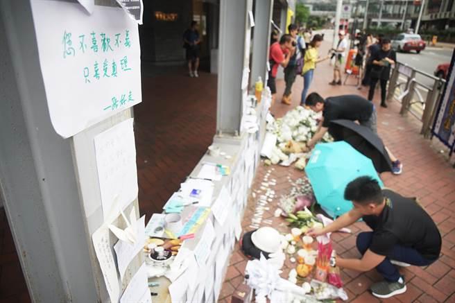 香港反逃犯修例傳憾事!抗議男子墜樓身亡