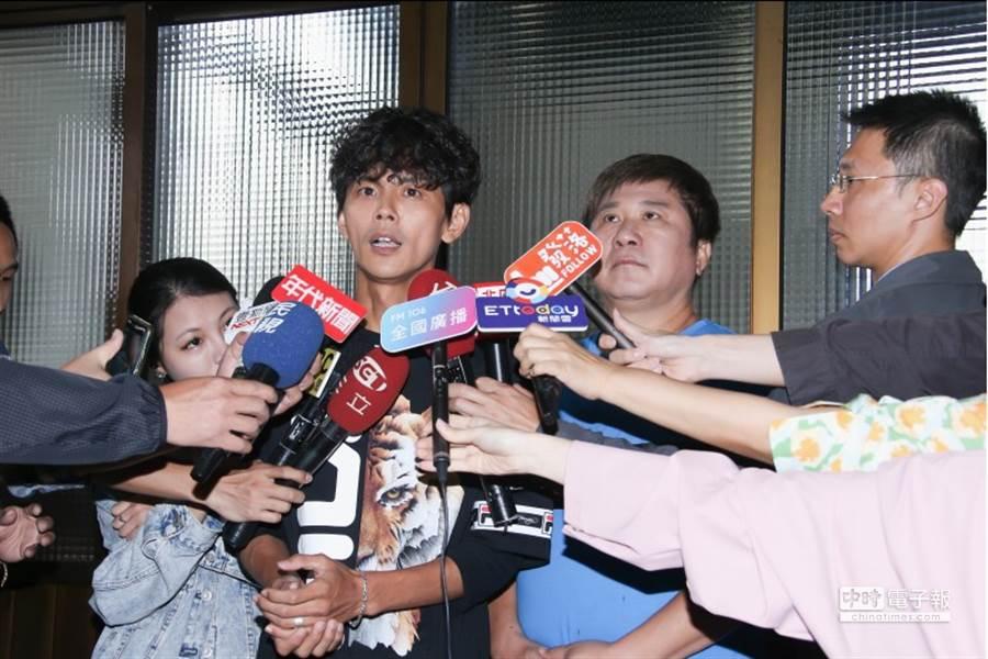 阿翔第一時間曾開記者會,但遭批沒有誠意,如今將在下週二再開一次。(資料照/記者羅永銘攝)