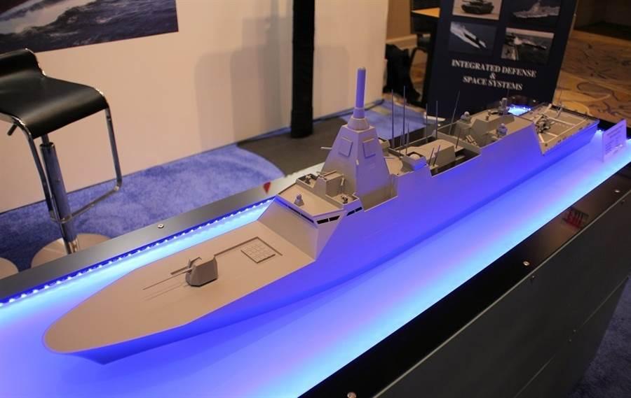 日本三菱設計的30FFM先進巡防艦,將是日本未來的主要水面艦。(圖/海軍情報網)