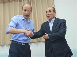韓國瑜突襲訪立院 意外促成「韓王會」