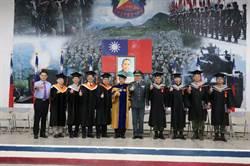 從軍也能讀碩士 明新在營專班畢業撥穗禮