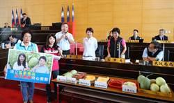 台中哈密瓜品質佳 盧秀燕將北上行政院會行銷