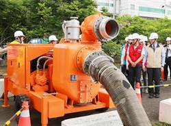 汛期將至!台南市增購抽水機防洪 首批36台到位