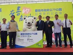 華友聯86特區造鎮認養公園 台南市長黃偉哲喊讚